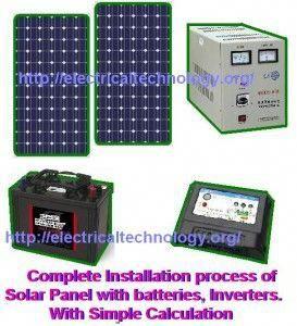 How Many Solar Panels Batteries Inverter Do I Need For Home Best Solar Panels Solar Panel Installation Solar Energy Panels