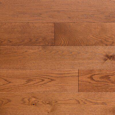Somerset Floors 3 1 4 Engineered Oak Hardwood Flooring Color Gunstock With Images Solid Hardwood Floors Hardwood Flooring