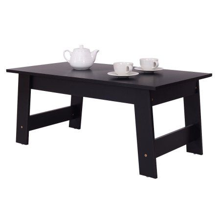 Costway Convenient Coffee Table Side End Table Home Office Modern