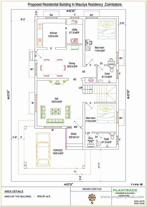 Free Duplex House Plans Beautiful Duplex House Plan For North Facing Plot 22 Feet By 30 Feet 2 In 2020 Indian House Plans Duplex House Plans 30x40 House Plans