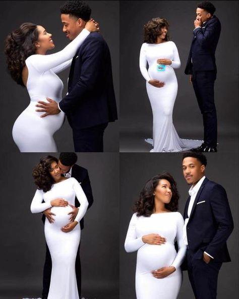 Maternity White Long Dress Baby Shower Shoot – loveangeldress