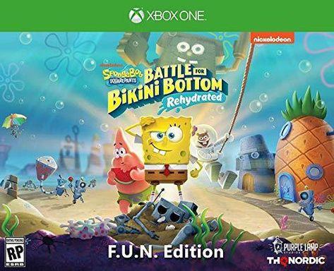 THQ Nordic Spongebob Squarepants: Battle for Bikini Bottom - Rehydrated - Xbox One / F.U.N. Edition