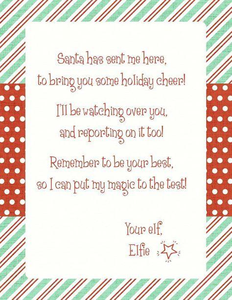 elf on the shelf letter template elf on shelf letter template elf on the shelf arrival