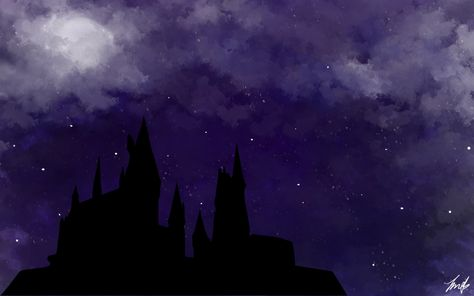 Harry Potter Hogwarts Castle Desktop Wallpaper - 1440x900