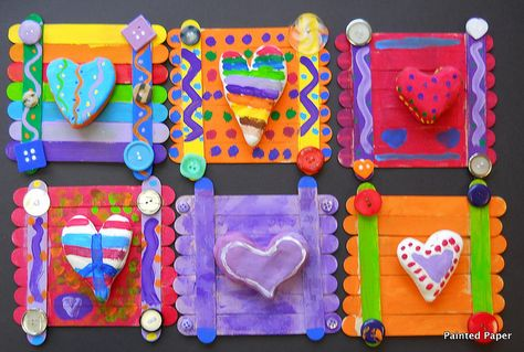 Art project idea- Jim Dine inspired Hearts in sculptural form.