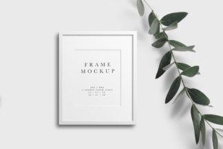Print Crella Portrait Frame Frame Mockups Frame Mockup Free