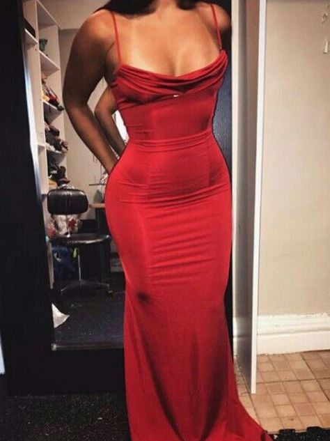 Every girl needs a red dress moment.