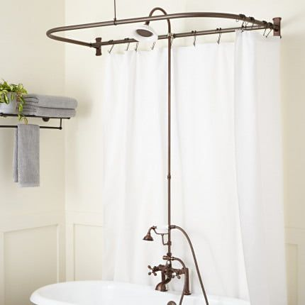 Clawfoot Tub To Shower Conversion Kits Signature Hardware With