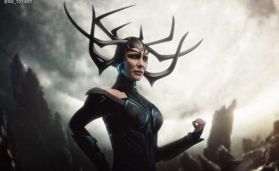 Toy art, Hela, Thor: Ragnarok, 2018 wallpaper