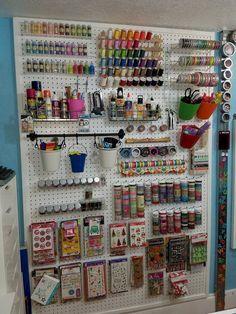 Be Creative With Pegboard Storage – jihanshanum – craft room storage - Hybrid Elektronike