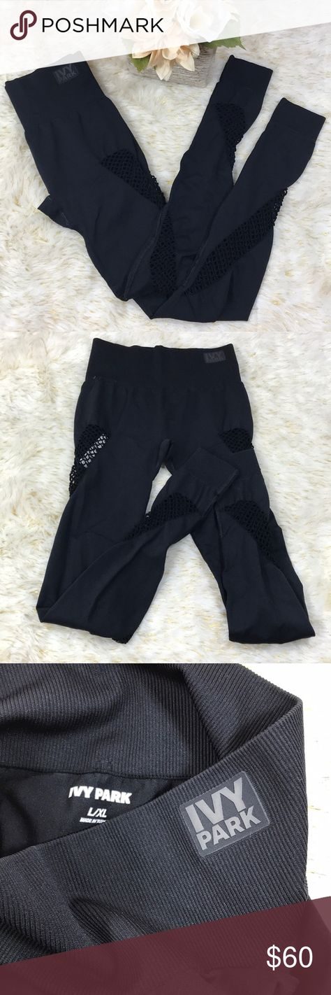 IVY PARK S/N: 29FPL391BBLK New with tags IVY PARK Pants Leggings