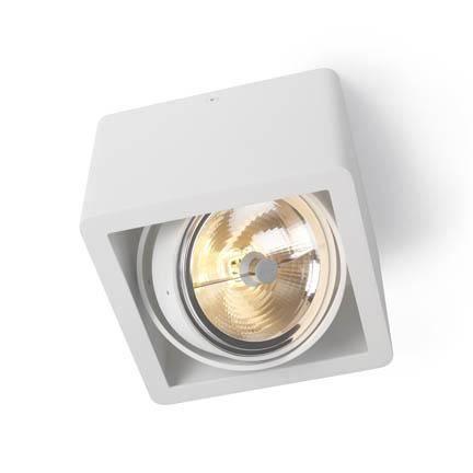 Trizo 21 R110 UP Spot & Taklampe Hvit   Taklampe, Hvit, Lamper