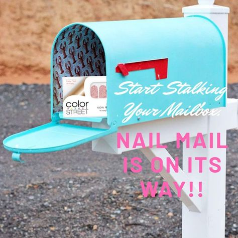 Color Street Nail Mail Web Banner, Banners, Street Marketing, Facebook Party, Nail Games, Color Street Nails, Digital Signage, Beautiful Soul, True Colors