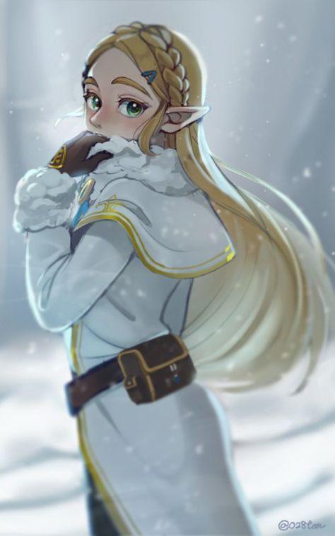 Zelda (Breath of the Wild) - Zelda no Densetsu: Breath of the Wild - Image - Zerochan Anime Image Board Legend, Character Art, Legend Of Zelda, Triforce, Game Character, Art, Cartoon, Character Design, Fan Art