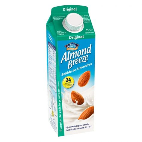 Bebida De Almendras Almond Breeze Brik 1 L Almendras Verduras