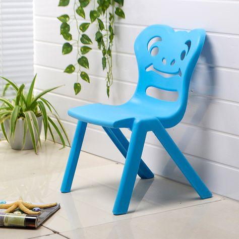 Enfants De La Maternelle Epaississement Chaise En Plastique Chaise Dedie Securite Des Enfants Bebe Chaises Petite Chaise Tabouret China Mainlan Chaise Plastique