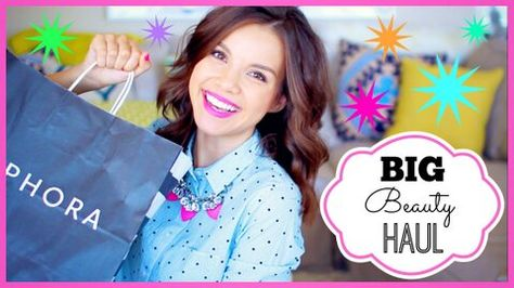"""Find out what vlogger Miss Glamorazzi """"goes through like nobody's business"""" in today's #SephoraHaul. #Sephora #Videos"""