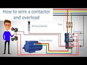 ladder diagram basics #3 (2 wire & 3 wire motor control circuit) - youtube  | electrical projects, wire, ladder logic  pinterest