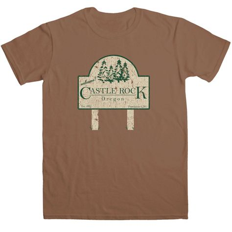 Inspired By Stand By Me T Shirt - Castle Rock - Chestnut / Medium