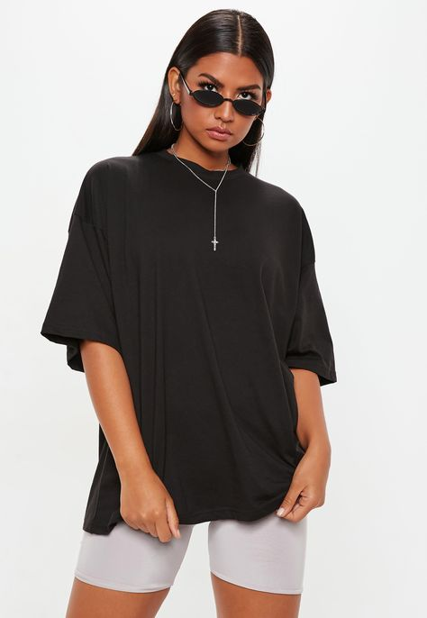 5d8a7d0e Black Bad Influence Graphic Oversized T Shirt #Sponsored #Influence, #Ad, # Bad, #Black