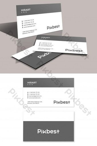 Simple And Minimalist Style Business Card Psd Free Download Pikbest Business Card Psd Free Business Card Psd Business Cards Simple