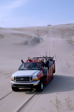 Mac Woods Dune Rides.  Silver Lake, Michigan.  I loved going there as kid, now I just need to get my family there.