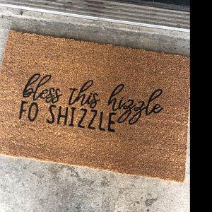 Bless This Hizzle Doormat Funny Doormat Funny Welcome Mat