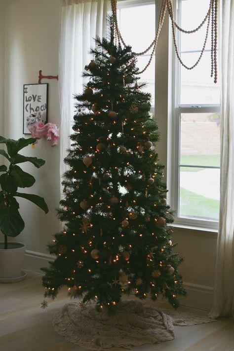 Christmas tree Michaels Dream Tree Challenge  #MichaelsMakers @cakiesblog