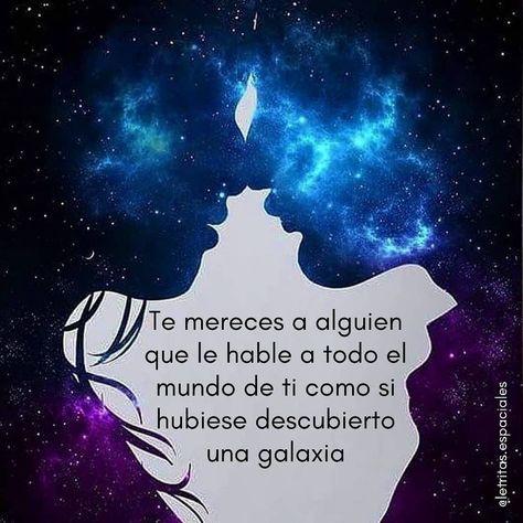 "Todos somos galaxias 🌌 ""Tanto por ver, tanto por descubir..."" . . Síguenos en @letritas.espaciales . . . . . . . . . . . . . . #frases #vida #frasesgram #amor #universo #espacio #luna #paz #textosdeamor #textosdeldia #love #likelike #like #follow #viaje #astral #reflexiones #positive #vibes #goodvibes #nature #space #universequotes #universetoday"