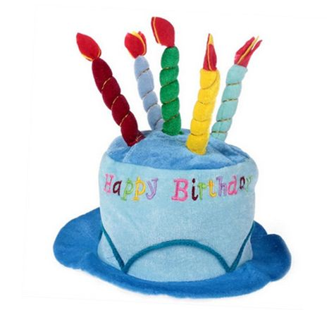 Plush Happy Birthday Party Cake Novelty Top Hat With Candles Details Can Be Found By Clicking On The Image This Is An Affiliate Link
