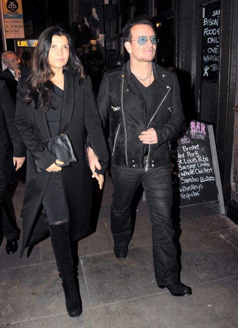Bono and wife Ali show supermodel Lily Cole around Dublin