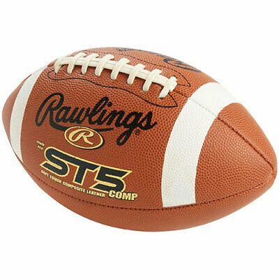 Advertisement Ebay Lot Of 4 Rawlings St5jb Junior Leather Comp American Football Footballs Final Four Basketball Football Ncaa Final Four