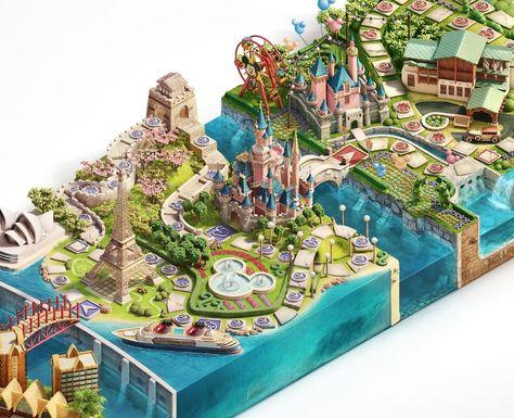 Disney — Vacation Club - Ars Thanea — The Art of Imagination