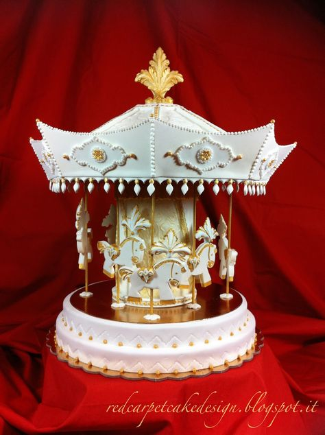 CAROUSEL CAKE- pubblicato in Cucina Chic Cake Design n°20/21 by Red ...