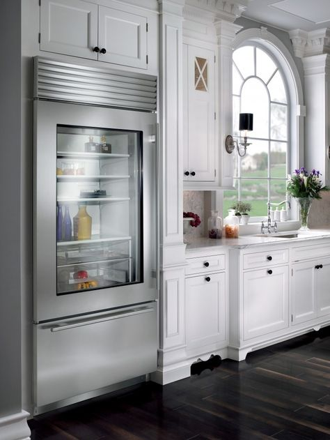 Industrial Fridge Kitchen Arch Window Future Home Design