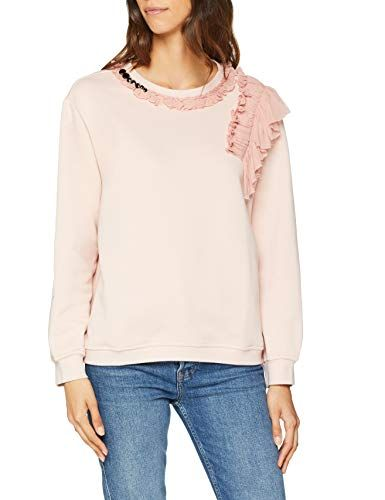 Only Onlcorinne L//S V-Neck Pullover Knt Su/éter para Mujer