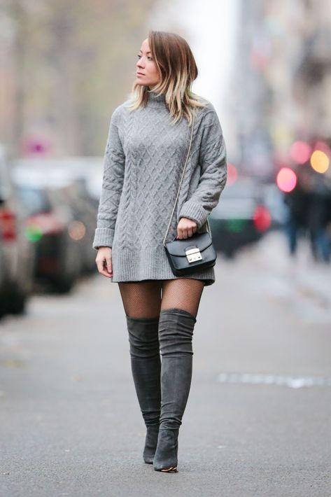 fashion winter Tall boots are a winter wa - fashion