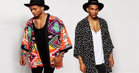 Men's Fashion: trendy Kimono for men