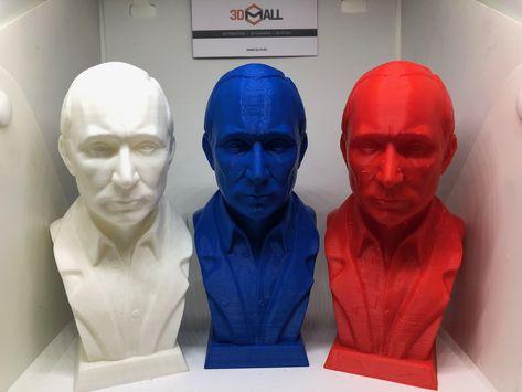 Напечатали бюсты ВВП в цветах триколора. У нас вы можете заказать 3D-печать моделей любой сложности. Срок выполнения заказа от 1 дня.  #3d #3Д #3дпечать #3дмоделирование #3dпечать #3dprinter #3dпринтер #3дпрототипирование #3dсканирование #3доборудование #3дпринтерымосква #услуги3дпечатимосква #3dmall #SLA #FDM #SLM #3d_printer #Путин #putin #VVP #ВВП #RF #РФ  #RUSSIA #выборы2018 #президент #Собчак #Грудинин #Титов #Жириновский #Явлинский #Зюганов #кандидат #ЛДПР #единая_россия #КПРФ #коммунисты