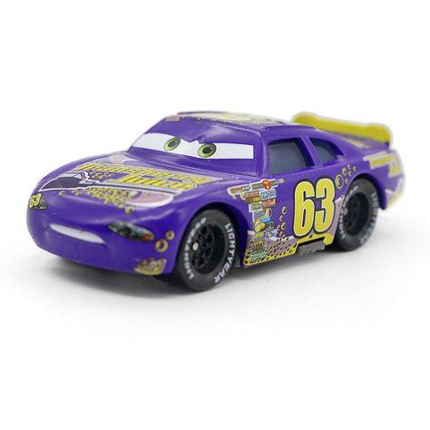 Disney Pixar Car Mack No.63 Transberry Juice Truck Toy Model Car 1:55 New Gift
