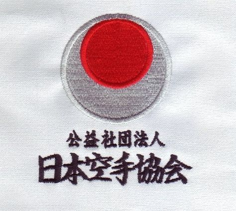 4 patterns T-shirt Japan Karate Association JKA
