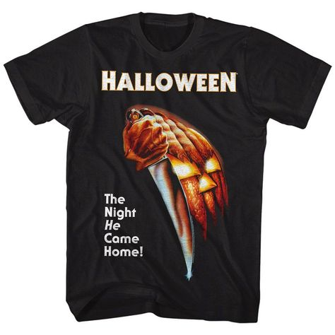 Halloween - The Night He Came Home | Black S/S Adult T-Shirt - 2XL / BLACK