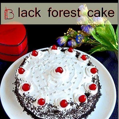 Eggless Black Forest Cake Recipe Black Forest Cake Forest Cake Perfect Cake Recipe