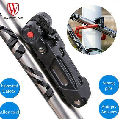 Indestructible Steel Folding Bike Lock No Need Key FoldLox