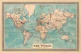 Image Result For Mapa Mundi Tumblr Mapas Vintage Papel De