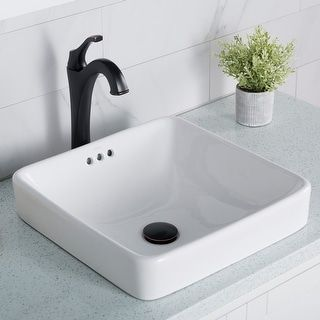Overstock Com Online Shopping Bedding Furniture Electronics Jewelry Clothing More Drop In Bathroom Sinks Square Bathroom Sink Ceramic Bathroom Sink