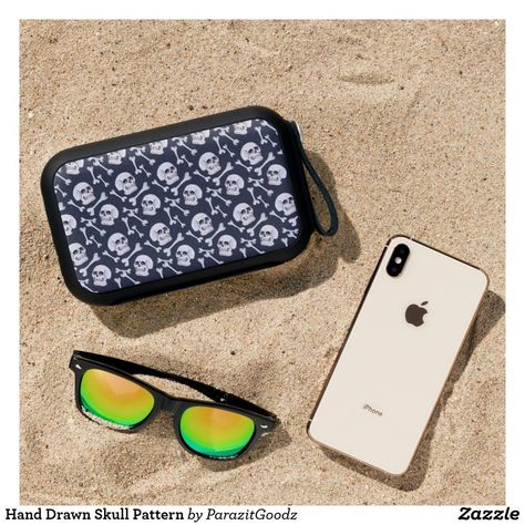 If you want to be the coolest person in the environment, what better than a charismatic hand-drawing skull? #zazzle #skull #handdrawn #watercolor #pattern #halloween #scary #cool  #artprint #gifts #gift #giftideas #design #unique #custom #tech #technology #accessories #laptop #ipad #phone #phonecase #iphone #samsung #keyboard #mouse #decal #sleeve #case #phoneaccessories