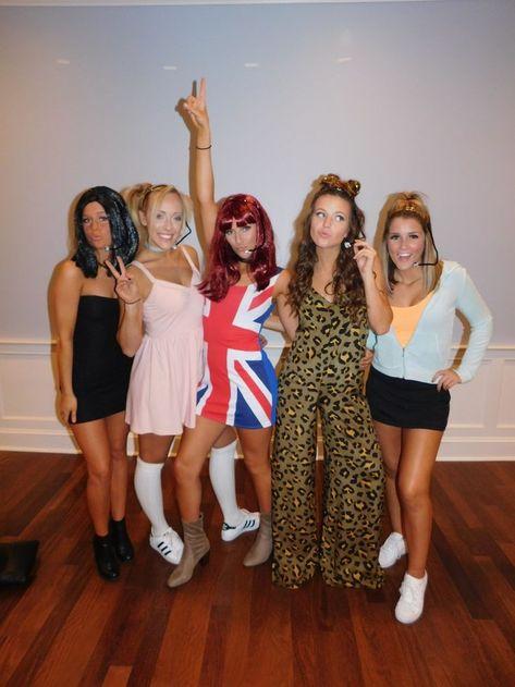 Spice Girls Halloween-Kostüm - New Ideas