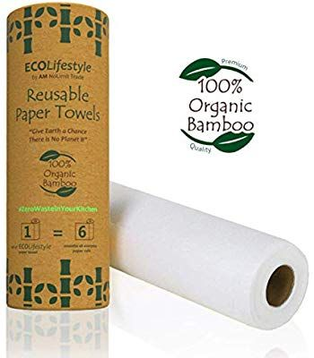 Reusable paper towels washable paperless towels zero waste kitchen