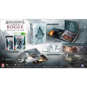Psx3 Assassins Creed Rogue Collector Wii Xbox Oyunlar